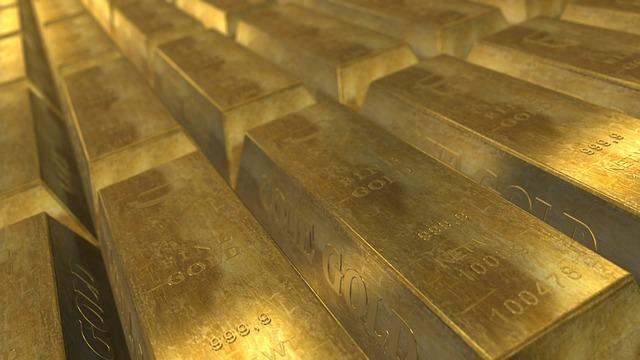 Gold und Reichtum