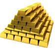 Goldminenaktien steigende Goldpreisen und die Produzenten von Gold
